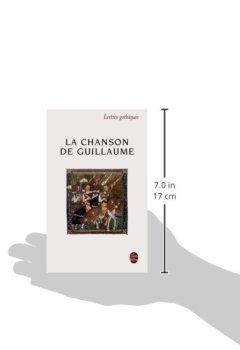 Livres Couvertures de La Chanson de Guillaume