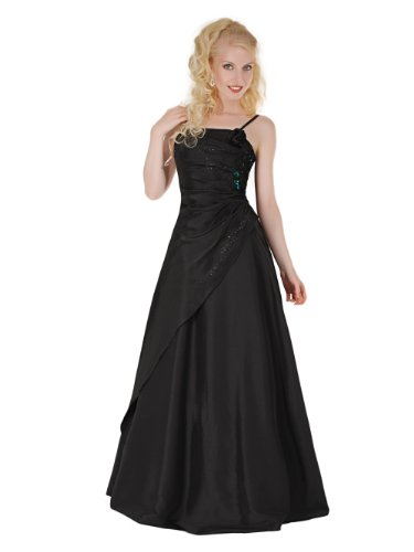 Envie/Paris - 1009 SOPHIA Abendkleid Ballkleid 1-teilig in Schwarz Gr.38-56