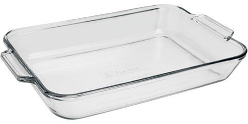 Fire King Anchor Hocking 9x13 3qt Glass Baking Dish Cooking Oven Bake