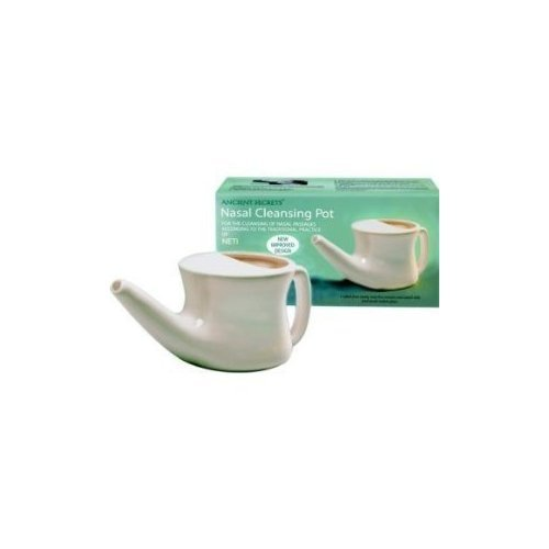 ceramic nasal cleansing neti pot