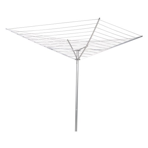 Household Essentials 12-Line Outdoor Umbrella-Style Clothes Dryer