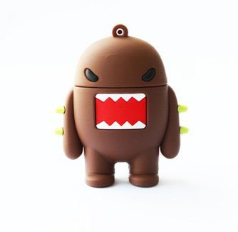 Trust&buy Novelty Cartoon Domo Shape USB Flash Drive Pen Drive Memory Stick Practical Gift - 32GB