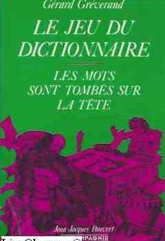Livres Couvertures de Le jeu du dictionnaire
