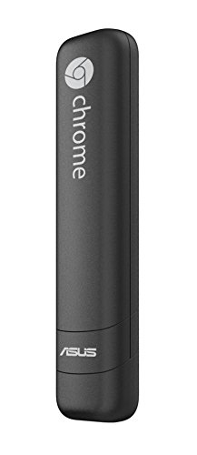 Asus Chromebit CS10 PenDrive PC, Dual-band 802.11 AC Wi-Fi, HDD 16 GB, Nero/Antracite