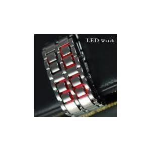 Iron Samurai - Japanese Inspired Red LED Watch
