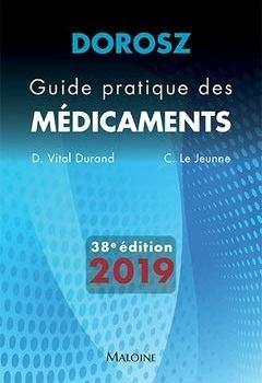 Livres Couvertures de Guide pratique des médicaments Dorosz