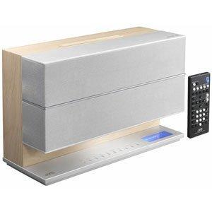 ビクター JVC Bluetooth搭載コンパクトコンポーネントシステム(ナチュラルウッド)JVC NX-W5-M