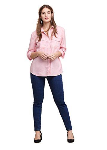 VIOLETA (Plus Size) – Jeggings mit dunkler waschung Jeans Jeggings massha