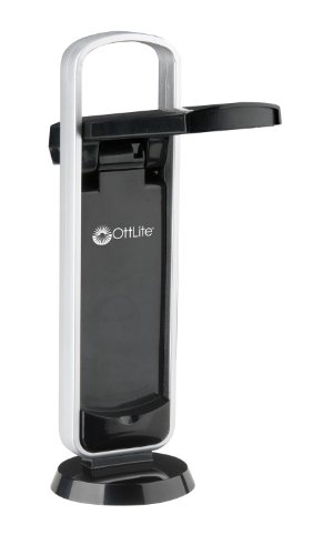 OttLite 290G59 Battery-Operated LED Mobile Task Lamp, Black