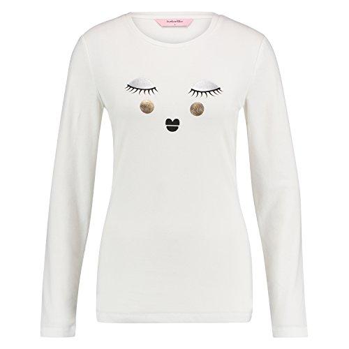 Hunkemöller Damen Pyjamaset Fleece Schaf 114236