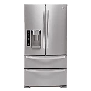 LG Panorama : LMX25981ST 24.7 cu. ft. French Door Refrigerator