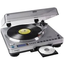 Conversor de discos antiguos en CDs
