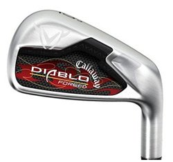 Callaway Diablo Forged Iron Set (3 thru PW) : right, Nippon NS Pro 1100 Steel (Uniflex)