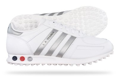 Adidas Originals LA Trainer Mens Schuhe Sneaker - weiß - SIZE EU 39.5