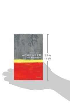 Livres Couvertures de World War II: A Very Short Introduction