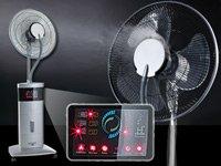 Sichler Stand-Ventilator mit Ultraschall-Sprühnebel & Fernbedienung