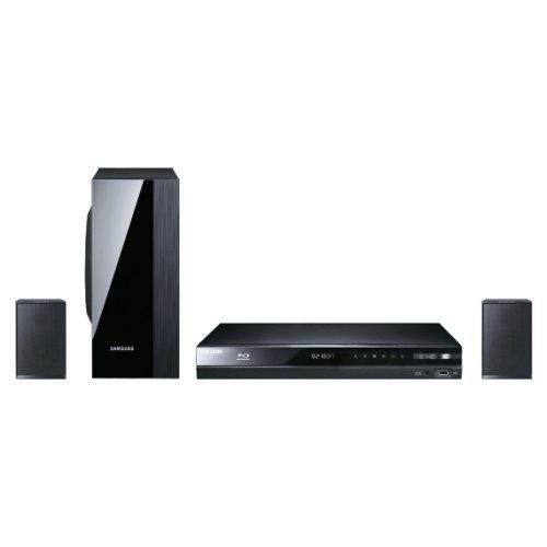 Samsung HT-D4200/EN 2.1 Blu-ray-Heimkinosystem (500 Watt, Allshare, WLAN ready, DLNA, USB 2.0) schwarz