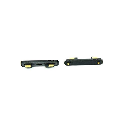 SKILIWAH® SONY Xperia Z3 Compact修理交換用 マグネット充電端子 磁性充電端子 充電クレードル触点 修理パーツ ブラック