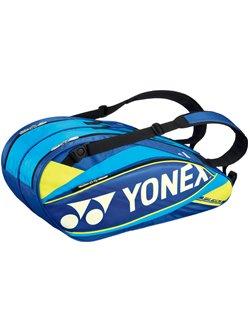 ヨネックス ラケットバッグ6 (テニス6本入り) BAG1502R ブルー(002)