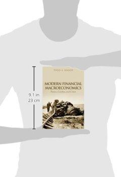 Livres Couvertures de Modern Financial Macroeconomics: Panics, Crashes, and Crises
