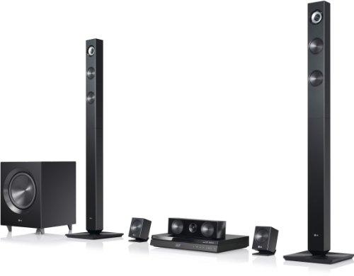 LG BH7420P 3D-Blu-ray 5.1 Heimkinosystem (1100 Watt, WLAN, Smart-TV, Dockingstation, DLNA, 2x HDMI-IN) schwarz
