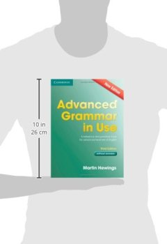 Livres Couvertures de Advanced Grammar in Use Book without Answers: A Reference and Practical Book for Advanced Learners of English.