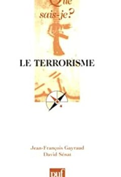 Livres Couvertures de Le Terrorisme