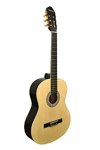 39-Inch-Full-Size-Beginner-Classical-Nylon-String-Guitar-DirectlyCheapTM-Translucent-Blue-Medium-Guitar-Pick