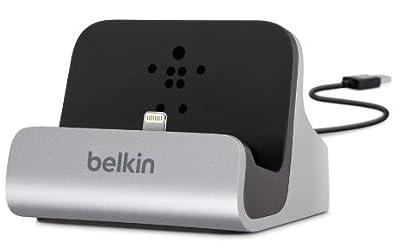 【国内正規代理店品】belkin ベルキン iPhone5s/5c/5対応 ケーブル一体型ドックスタンド F8J045bt