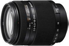 Sony SAL18250 Alpha DT 18-250mm f/3.5-6.3 High Magnification Zoom Lens w/Lens Hood