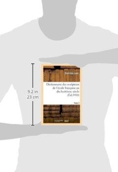 Livres Couvertures de Dictionnaire des sculpteurs de l'école française au dix-huitième siècle. Tome 2