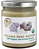 Dastony - Stone Ground Nut & Seed Butters: 01/8 oz Jar of Organic Sesame (Tahini) 100%