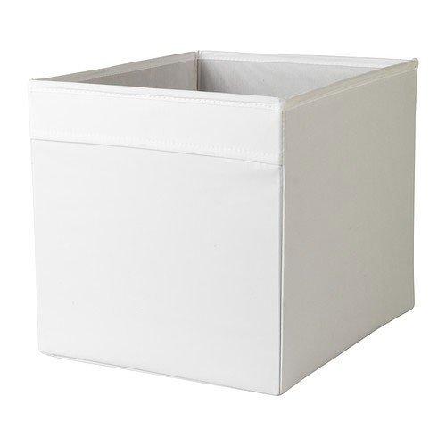 IKEA Regalfach 'DRÖNA' Aufbewahrungsbox Regaleinsatz in 33x38x33 cm (BxTxH) – WEISS – passend für Expedit, Besta, etc.