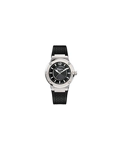 s fig020015 f-80 analog display quartz black watch,salvatore ferragamo women,video review,(VIDEO Review) Salvatore Ferragamo Women's FIG020015 F-80 Analog Display Quartz Black Watch,