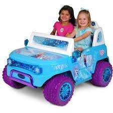 Disney-Frozen-SUV-12V-Battery-Operated-Ride-On