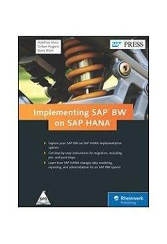 Livres Couvertures de Implementing SAP BW on SAP HANA [Hardcover] [Jan 01, 2015] Steve Blum