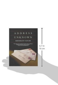 Livres Couvertures de Address Unknown