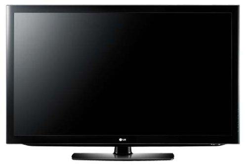 LG 32LD450 81,3 cm (32 Zoll) LCD-Fernseher (Full-HD, 50Hz MCI, DVB-T/-C) schwarz