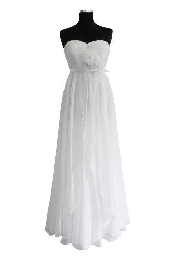 Fashionart Langes Kleid aus Chiffon