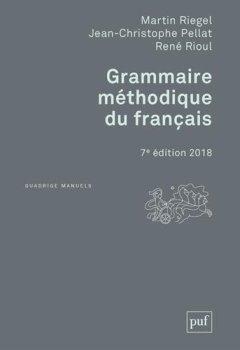 Livres Couvertures de Grammaire méthodique du français