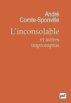 Livres Couvertures de L'inconsolable Et Autres Impromptus