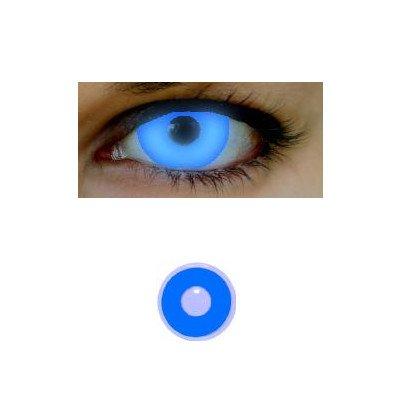 Farbige Kontaktlinsen EYE 2 EYE GLO UV blue