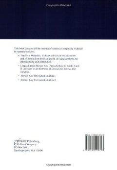 Livres Couvertures de Lingua Latina Per Se Illustrata: Teachers' Materials