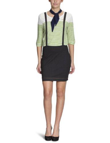 Killah Damen Kleid/ Mini, gestreift KS7500-PH9096-0-E03602/CITRUS-PIE DRESS (FALL BASI-K)