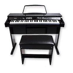pianos numeriques delson np10 piano blanc laque