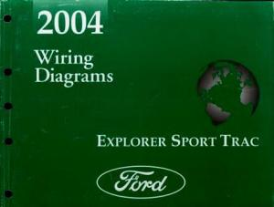 2004 Ford Explorer Sport Trac Wiring Diagrams: Ford Motor