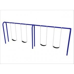 Arch-Swing-Frame-4-Swings-35-Inch-Post