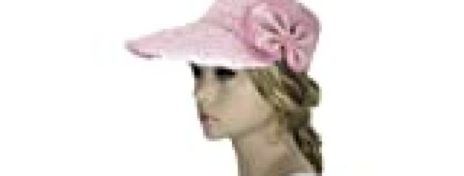 "Noonies Boutique The Pink Scallop Sun Bonnet 11"" w/ 5"" Brim"