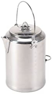 Stansport Aluminum 20 Cup Percolator Coffee Pot