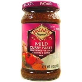 Pataks Curry Paste Mild 10oz